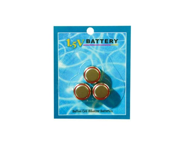 Bateria Para Brinquedos Eróticos -  1.5V LR44 - 3 Un