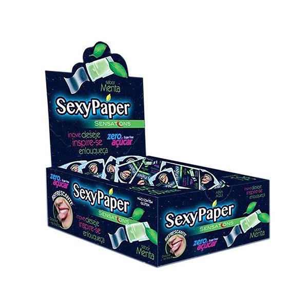 Sexy Paper - 12 Blister - 20 Lâminas Cada - Menta