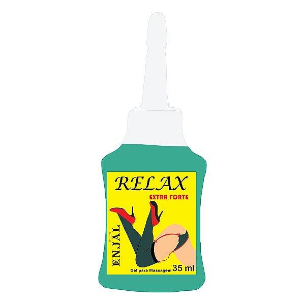 Relax - Gel Relaxante Anal - Extra Forte - 4 Funções - com Bico Aplicador 35 ml