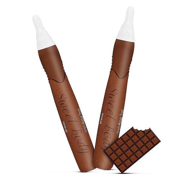 Sweet Body Caneta Comestível Sabor Chocolate 25g