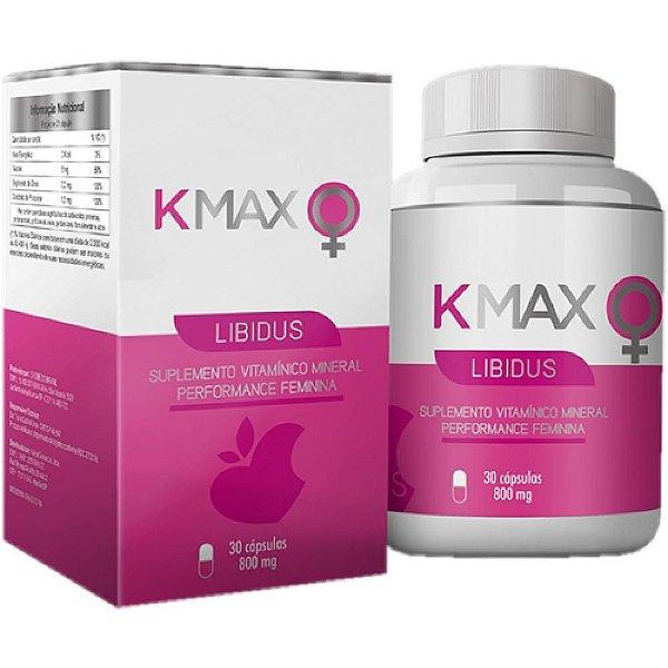 Suplemento Sexual Feminino KMax Libidus 30 Cápsulas