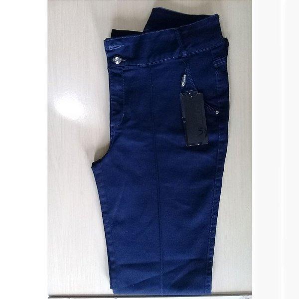 Calça Jeans Vuelo com Nervura - 44