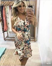 Vestido Estampa Floral