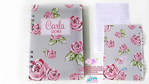 Caderno Capa Dura Simples Personalizado