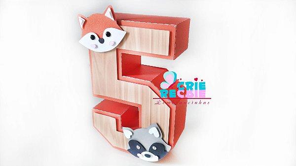 Número 3D Personalizado