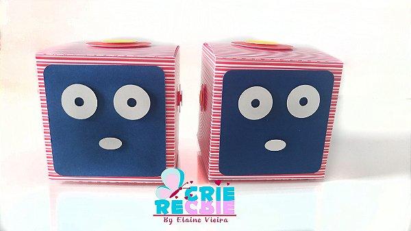 Caixa Quadrada Personalizada - 06 Peças