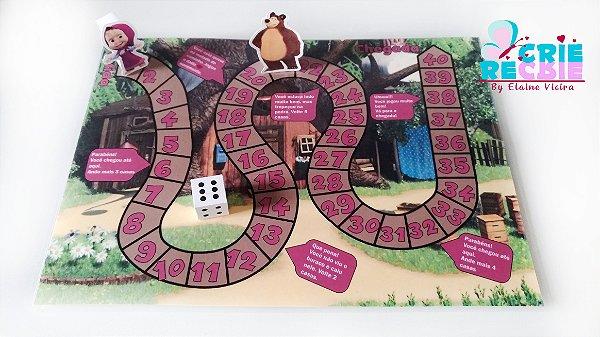 Jogo de Tabuleiro Personalizado - 10 peças