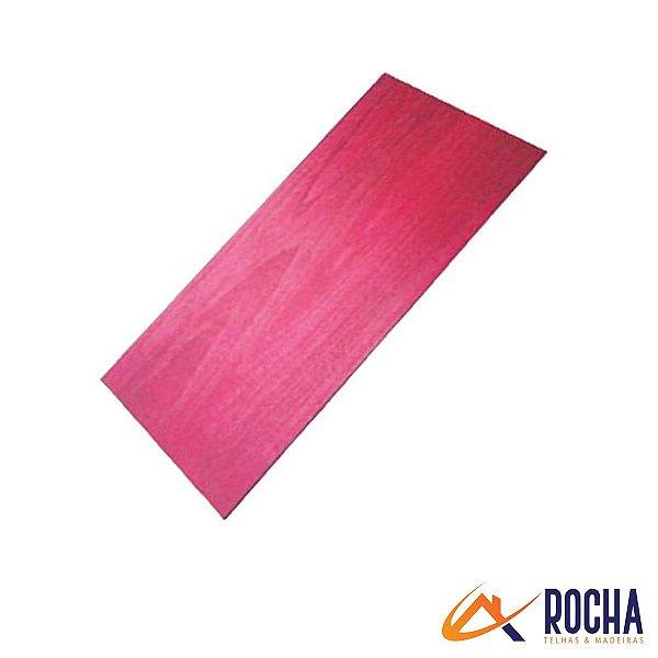Madeirite Vermelho 220 cm x 110 cm x 05 mm