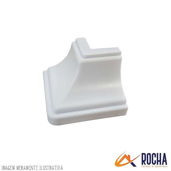 Acabamento Canto Externo em PVC - Branco Gelo