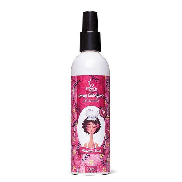 Spray Aromatizante no atacado para cozinha Aroeira - Pimenta Rosa
