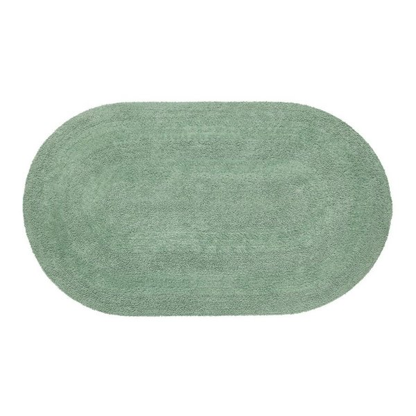 Tapete Aroeira Double Green 70X120cm Oval