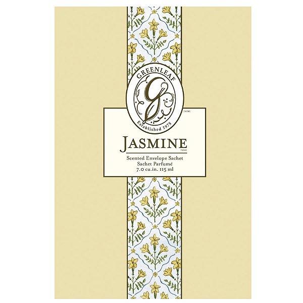 Sachê Perfumado Greenleaf Jasmine no Atacado - Large (Grande) - CAIXA COM 18 UNIDADES