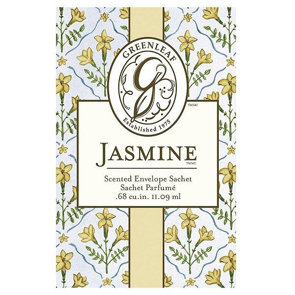 Sachê Perfumado Greenleaf Jasmine no Atacado - Small/Pequeno - CAIXA COM 30 UNIDADES