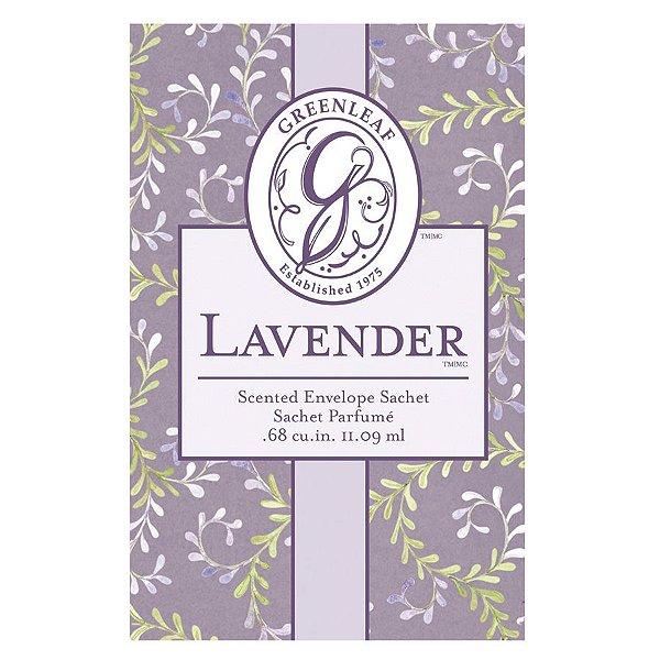 Sachê Perfumado Greenleaf Lavender no Atacado - Small/Pequeno - CAIXA COM 30 UNIDADES