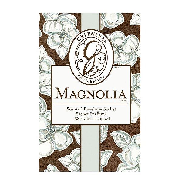 Sachê Perfumado Greenleaf Magnolia no Atacado - Small/Pequeno - CAIXA COM 30 UNIDADES