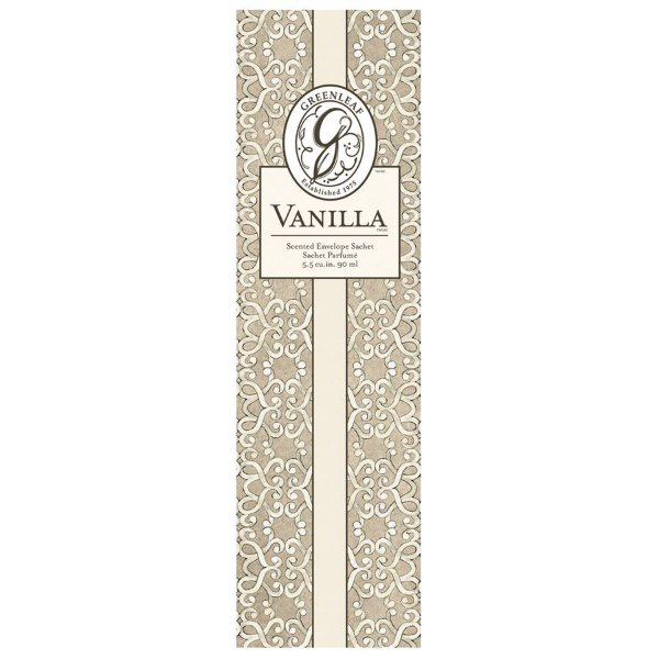 Sachê Perfumado Greenleaf Vanilla no Atacado - Slim (Médio) - CAIXA COM 12 UNIDADES