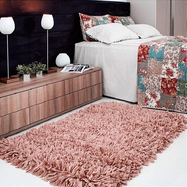 Tapete Aroeira Stilo Rosa Nude 70x120cm