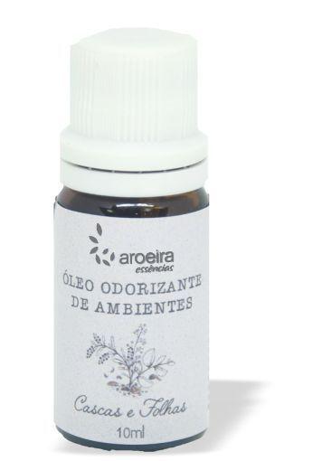 Óleo Perfumado Aroeira Essencias 10ml - Gotejador - Cascas e Folhas