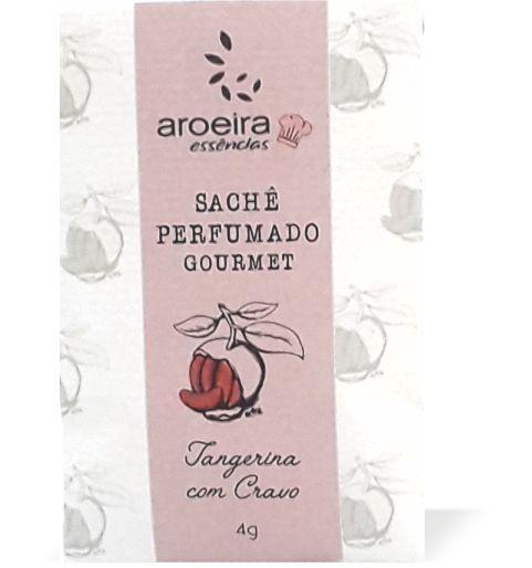 Sachê Perfumado Aroeira Essências 4g - Tangerina Cravo