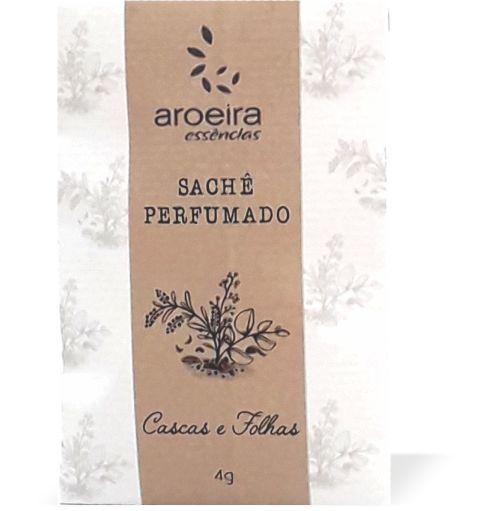 Sachê Perfumado Aroeira Essências 4g - Cascas e folhas