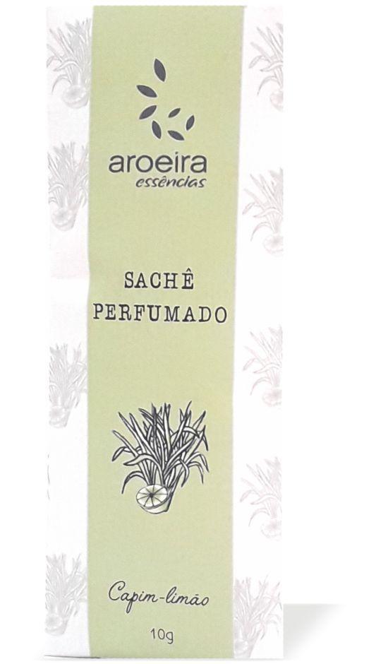 Sachê Perfumado Aroeira Essências 10g - Capim-limão