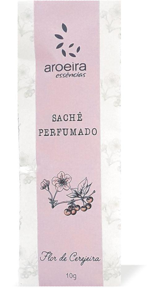 Sachê Perfumado Aroeira Essências 10g - Flor de Cerejeira