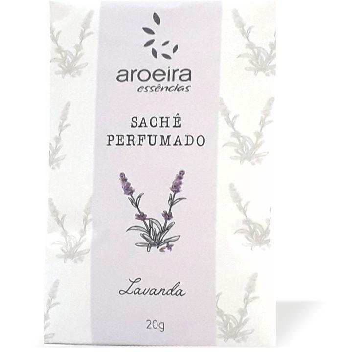 Sachê Perfumado Aroeira Essências 20g - Lavanda