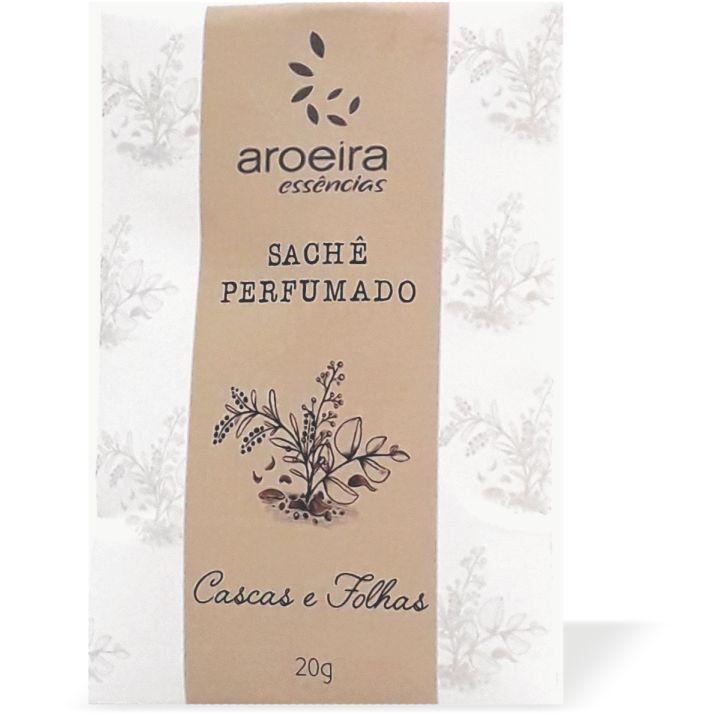 Sachê Perfumado Aroeira Essências 20g - Cascas e folhas