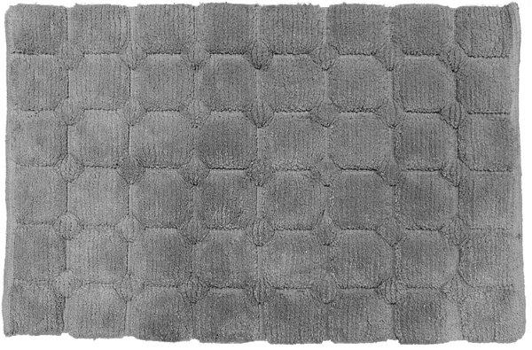 Tapete Aroeira Área Cinza - 50X80cm Retangular