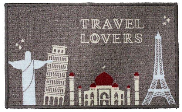 AGUARDE NOVIDADE! Capacho Aroeira Minha Casa Travel Lovers 45x75cm