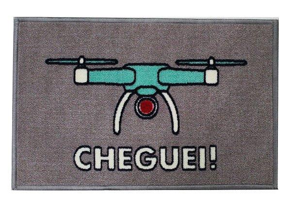 AGUARDE NOVIDADE! Capacho Aroeira Minha Casa Drone 45x75cm