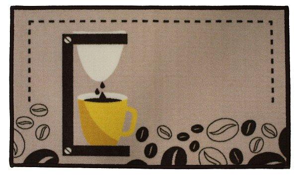 Tapete Aroeira Dia a Dia Grãos de Café 50x80cm