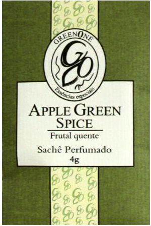 Sachê Perfumado Greenone 4g - Apple Green Spice