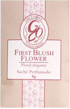 Sachê Perfumado Greenone 4g - First Blush Flower