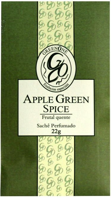 Sachê Perfumado Greenone 22g - Apple Green Spice