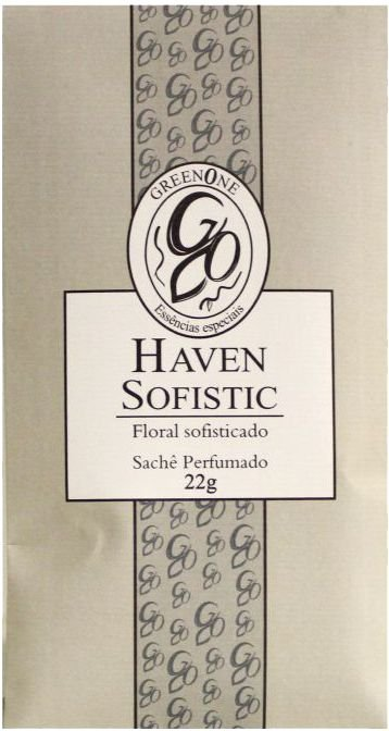 Sachê Perfumado Greenone 22g - Haven Sofistic
