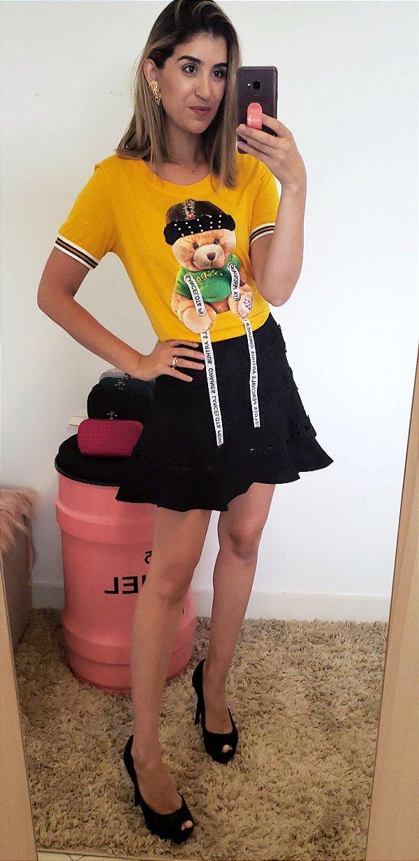 saia short mini com renda hs vr