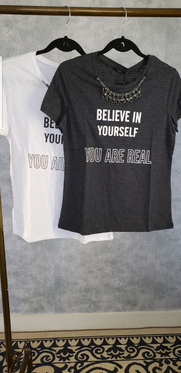 T SHIRT BELIVE IN YOURSELF