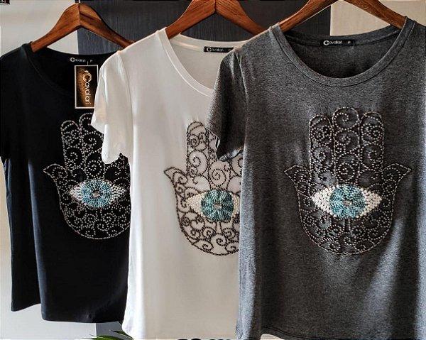 T-Shirt mao de Fátima