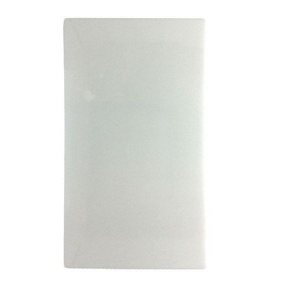 TABUA POLIETILENO BRANCA  30x50 cm SOLRAC