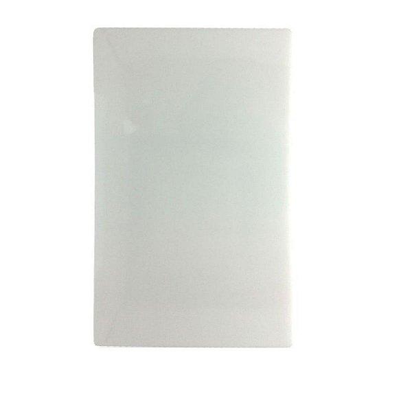 TABUA POLIETILENO BRANCA 20x35 cm SOLRAC