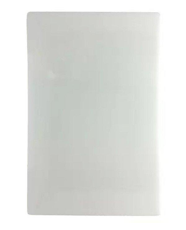TABUA POLIETILENO BRANCA 30x40 cm SOLRAC