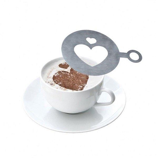 KIT DECORADOR PARA CAFÉ 16 PEÇAS GP INOX