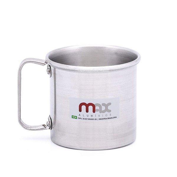 CANECA 450 ML MAX ALUMÍNIO