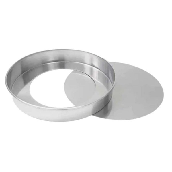 Forma Redonda Com Fundo Falso 25x5 Max Alumínio