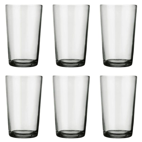 Jogo Copo Long Drink 6 Peças 340ML Nadir