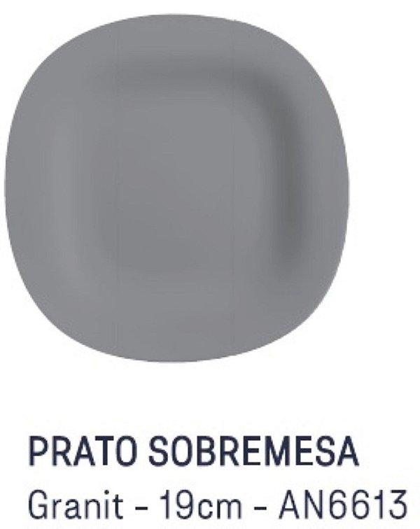 Prato de Sobremesa Granit 19 cm Carine Luminarc
