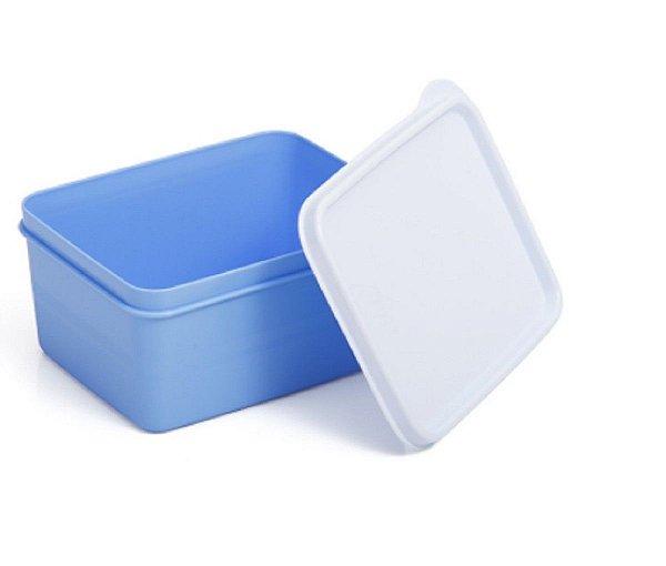 Pote Hermético Azul 250 ml Essencial Dup
