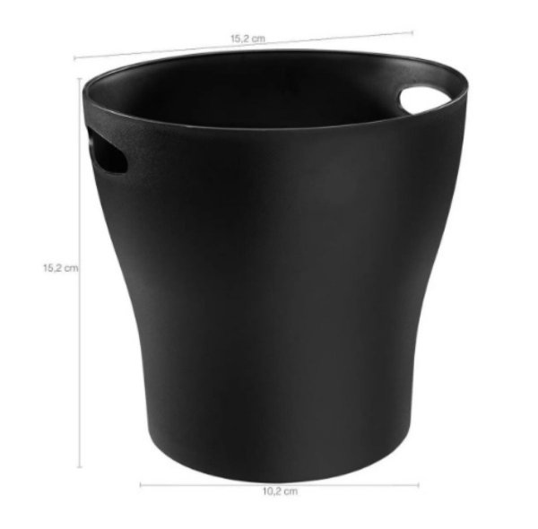 Mini Cooler Preto 1.3 Litros Coza