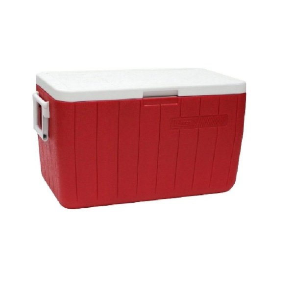 Caixa Térmica 45,4 Litros Vermelha Coleman